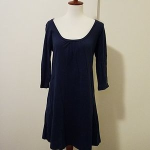 Old Navy navy cotton dress